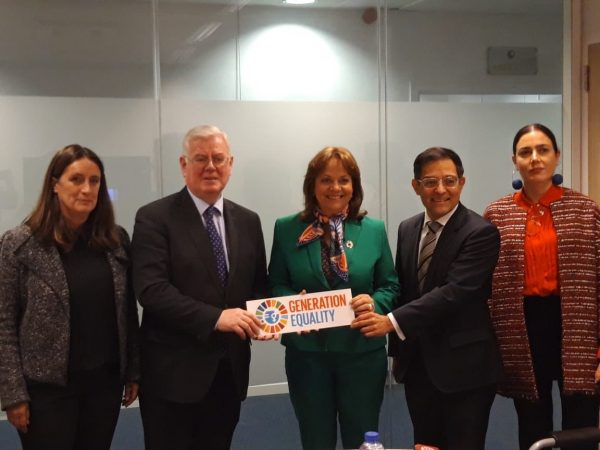 Meeting with Martha Delgado Penalta, Mexico Vice Minister for Multilateral and Human Rights